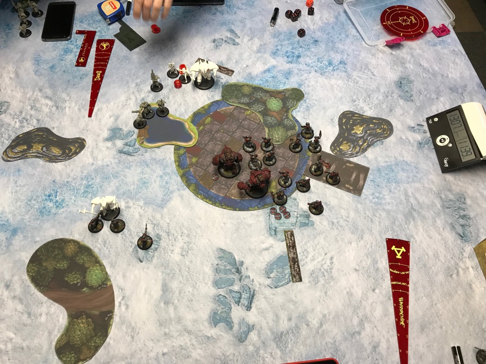 Battle Report #9 - End of Khador Turn 3