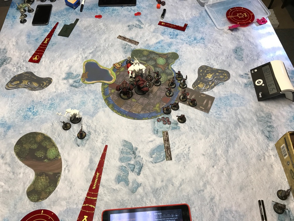 Battle Report #9 - End of Khador Turn 4