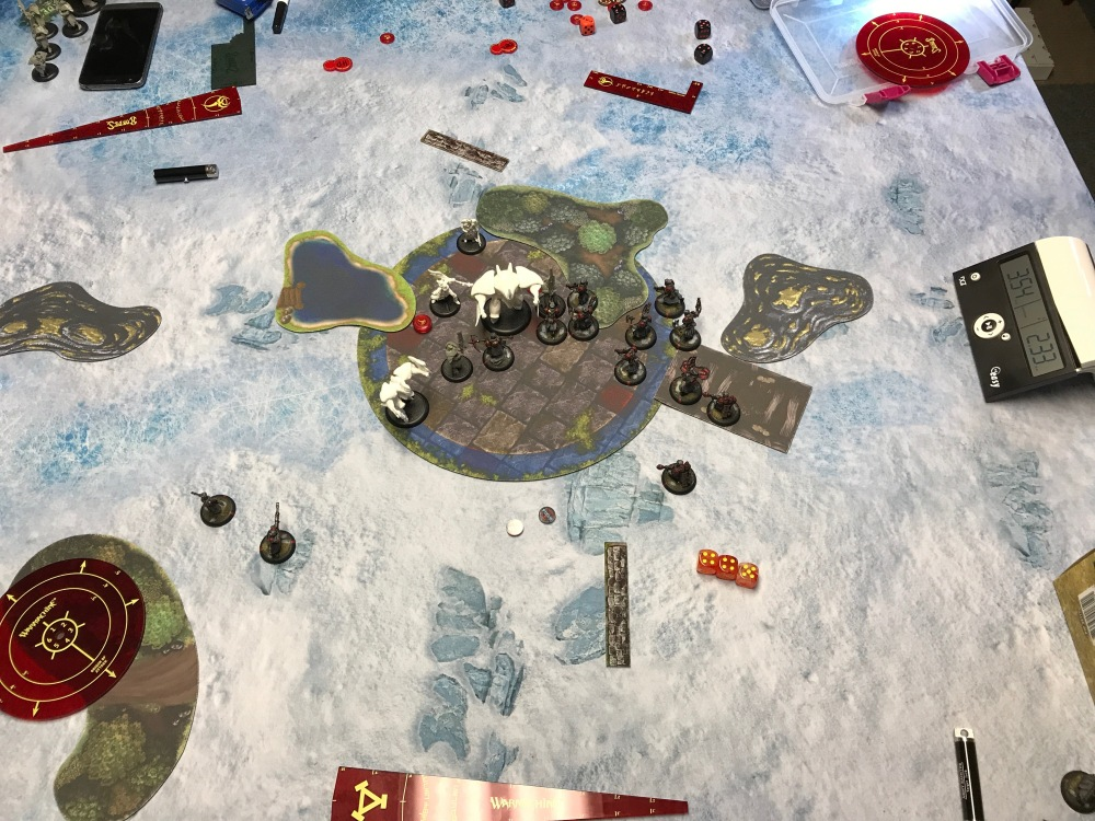 Battle Report #9 - End of Khador Turn 5