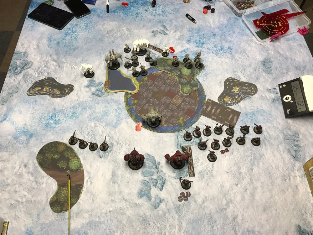 Battle Report #9 - End of Retribution Turn 1
