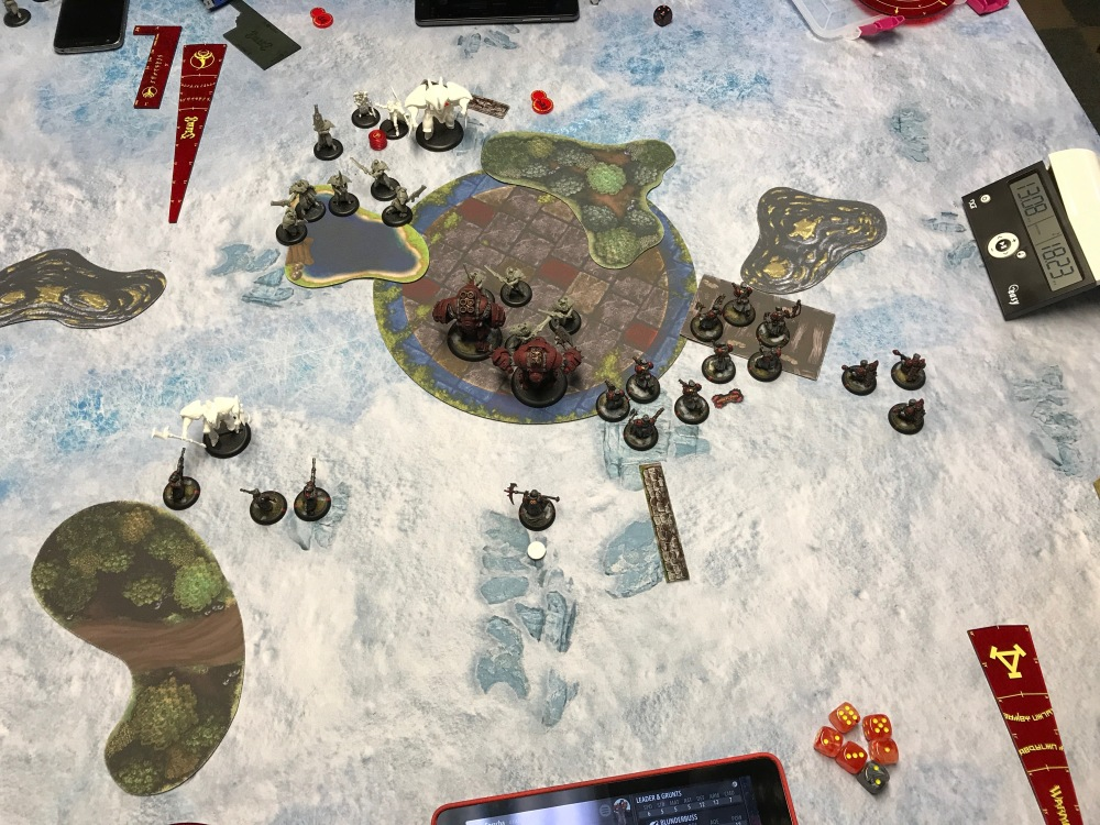 Battle Report #9 - End of Retribution Turn 2