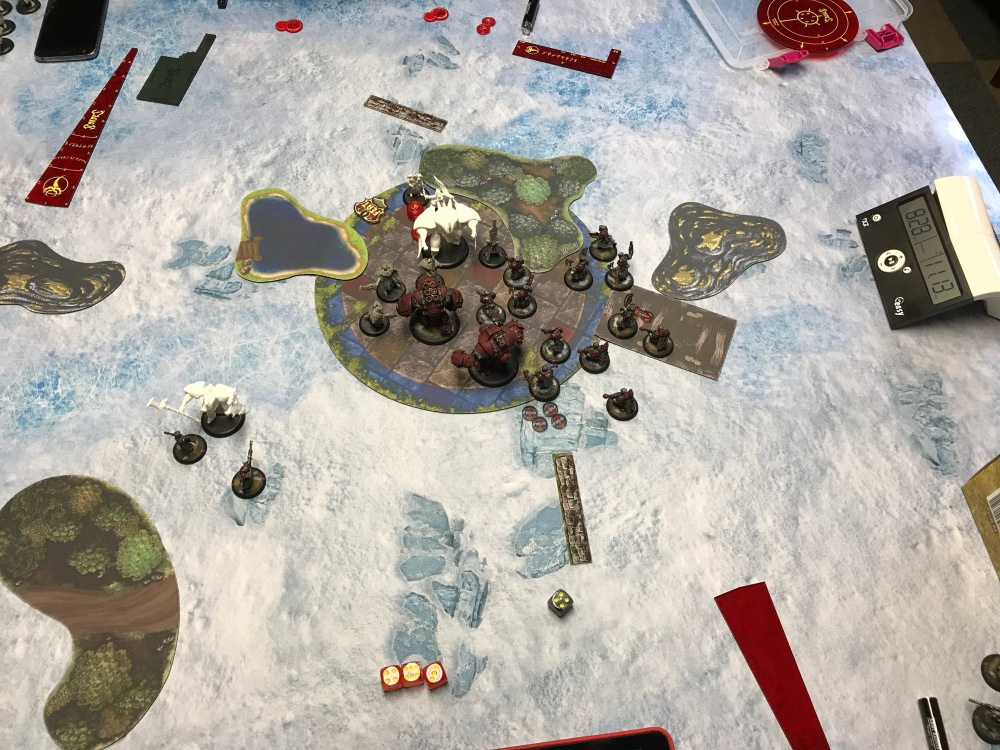 Battle Report #9 - End of Retribution Turn 3