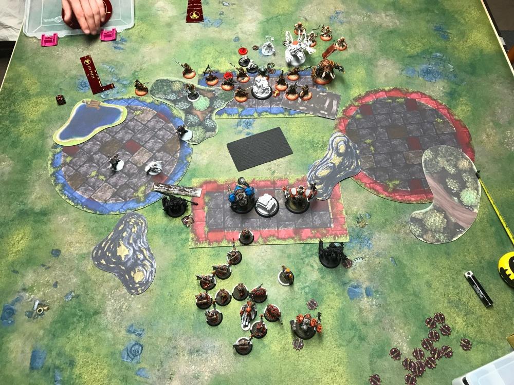 Battle Report #13 - End of Menoth Turn 1.JPG