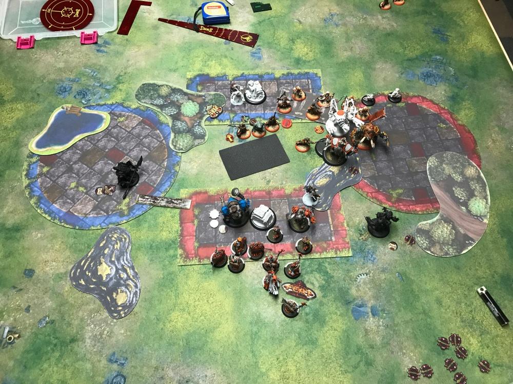 Battle Report #13 - End of Menoth Turn 2.JPG