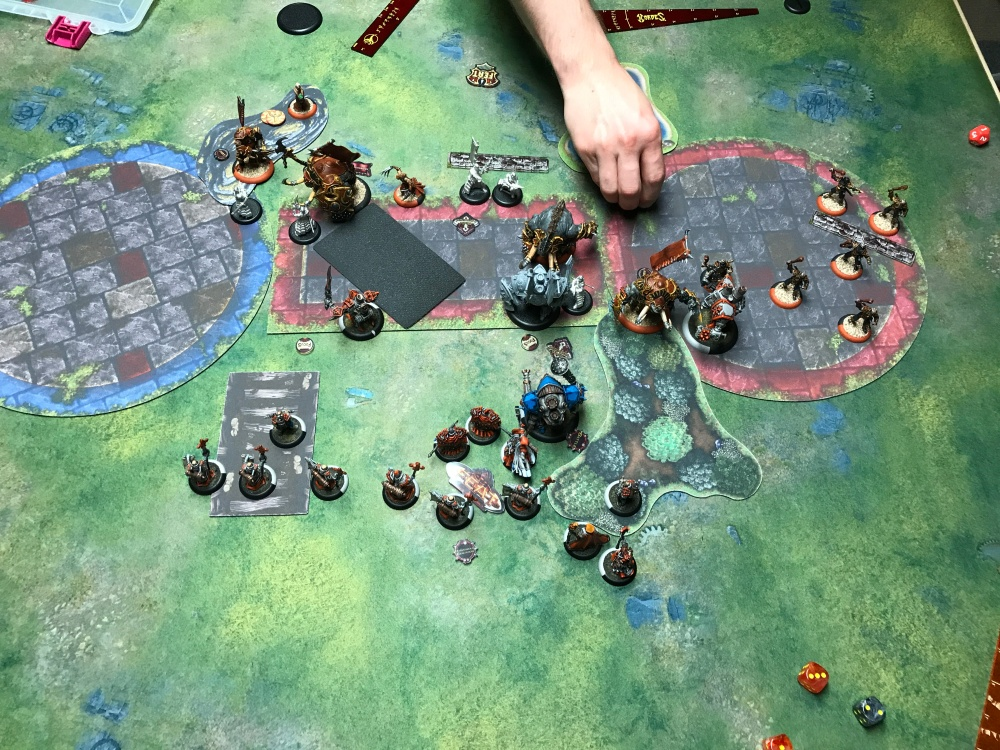 Battle Report 14 - End of Menoth Turn 3