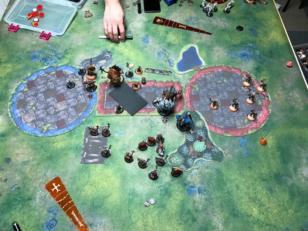 Battle Report 14 - End of Menoth Turn 4
