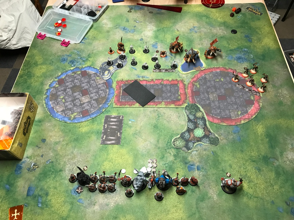 Battle Report 14 - End of Skorne Turn 1