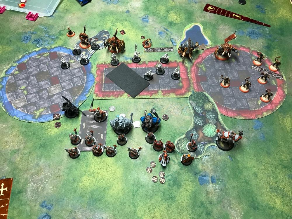 Battle Report 14 - End of Skorne Turn 2