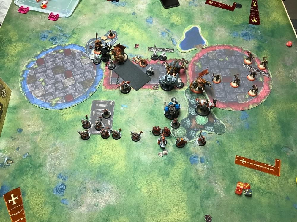 Battle Report 14 - End of Skorne Turn 3