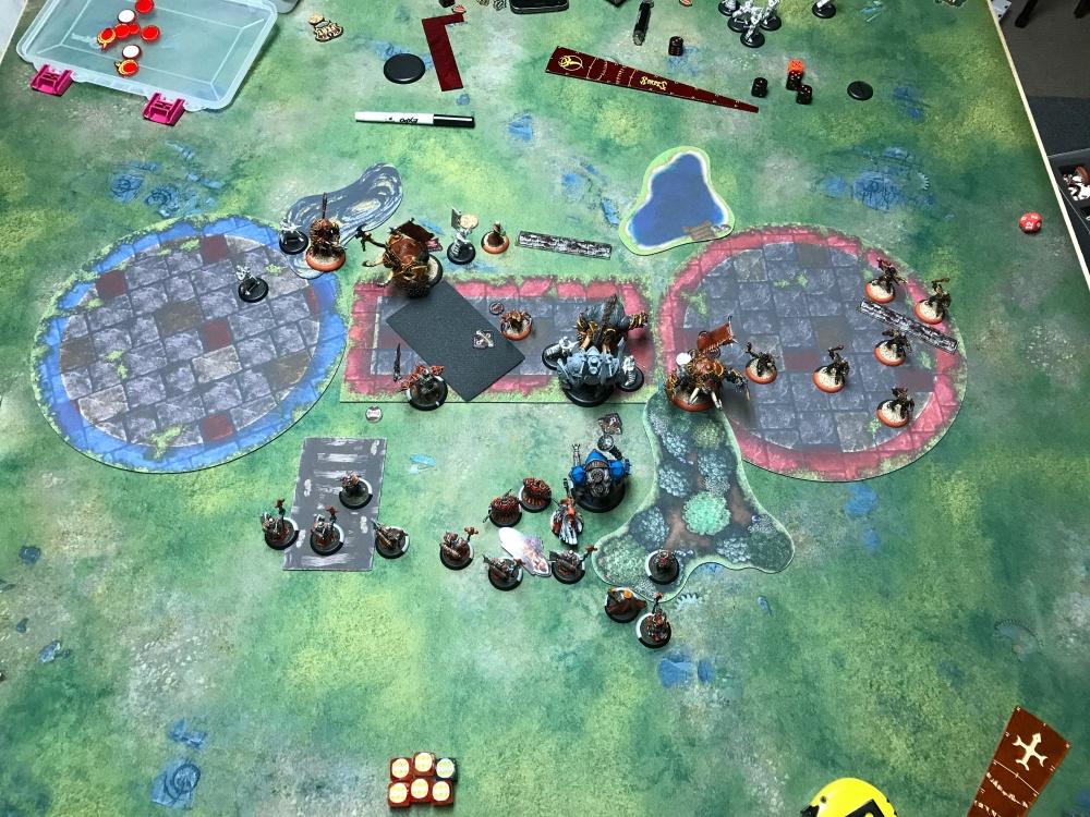 Battle Report 14 - End of Skorne Turn 4