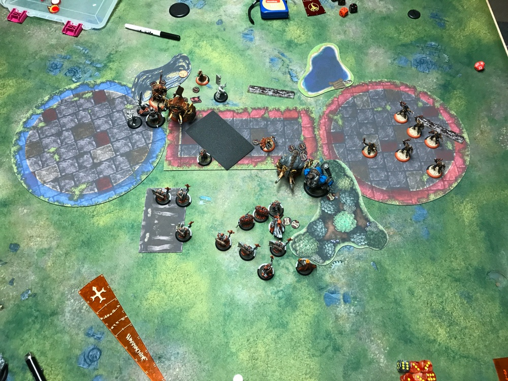 Battle Report 14 - End of Skorne Turn 5