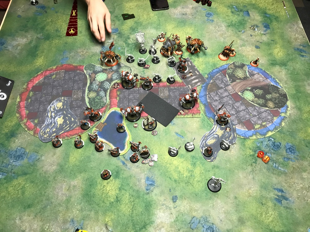 Battle Report #15 - End of Menoth Turn 2