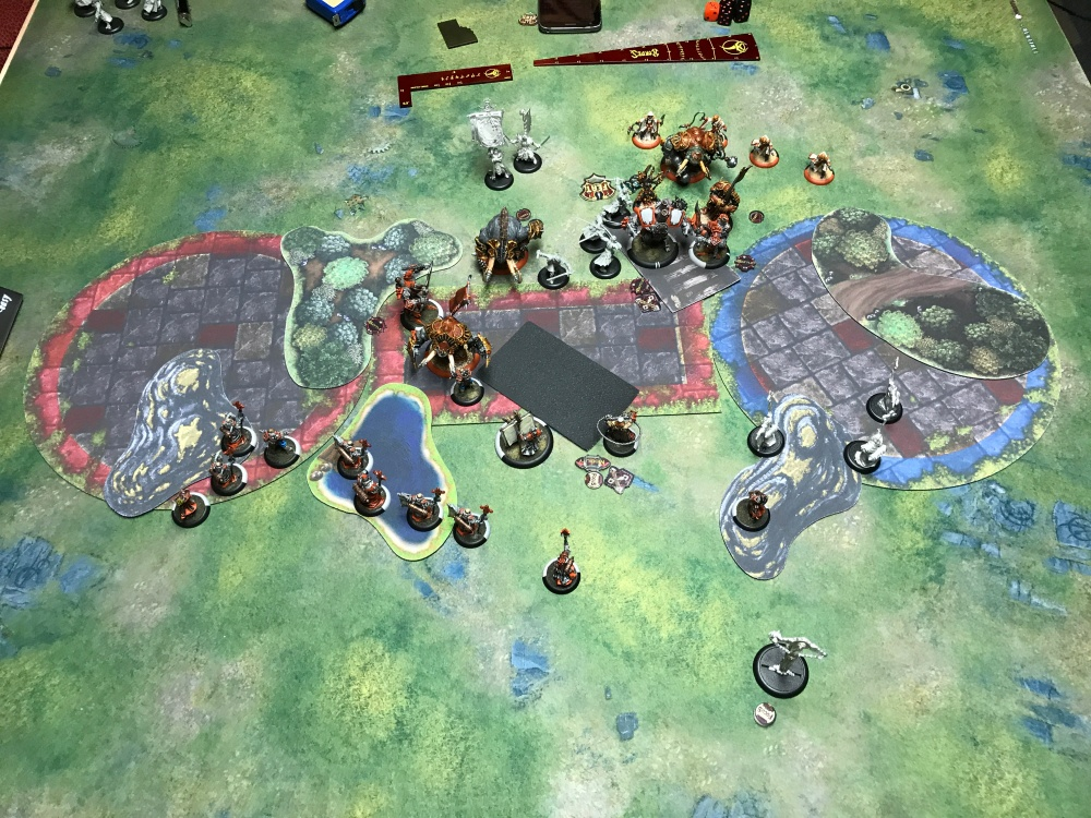 Battle Report #15 - End of Menoth Turn 3