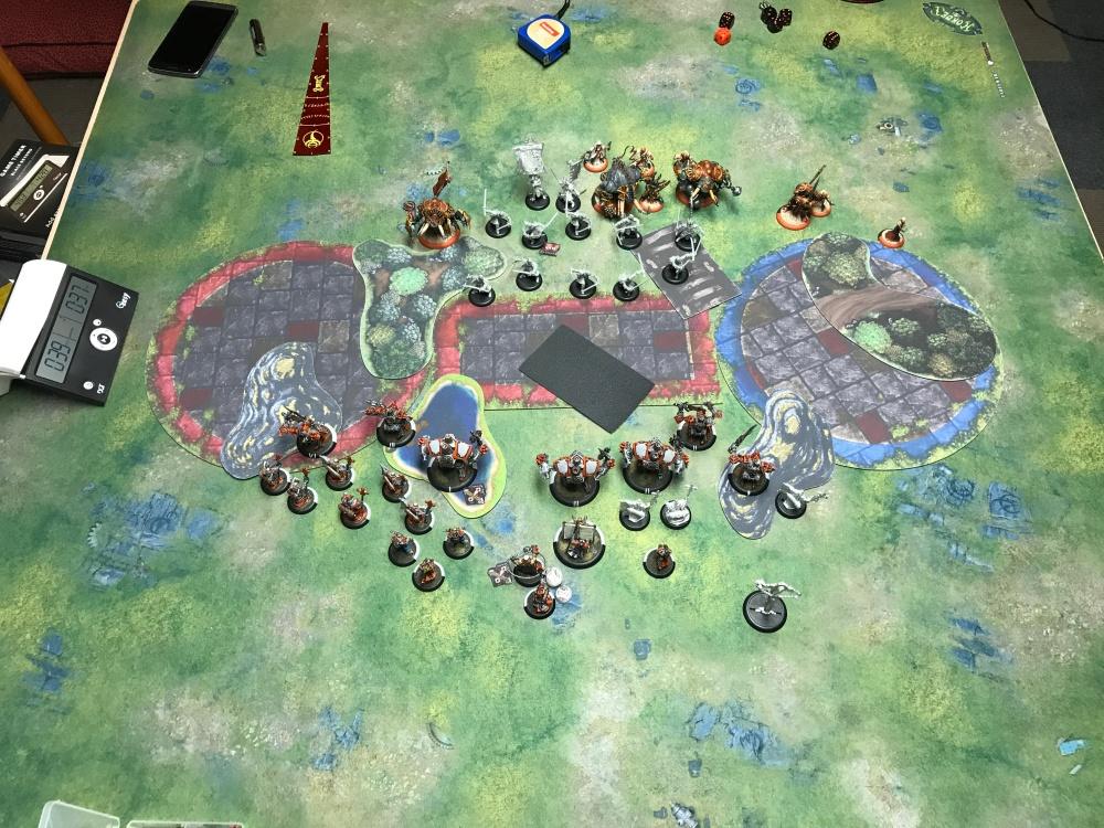 Battle Report #15 - End of Skorne Turn 1