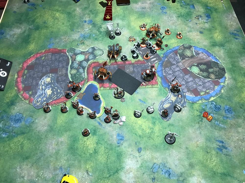 Battle Report #15 - End of Skorne Turn 2