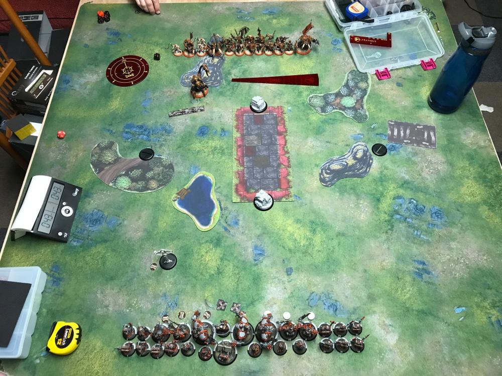 Battle Report 17 - Deployment.JPG