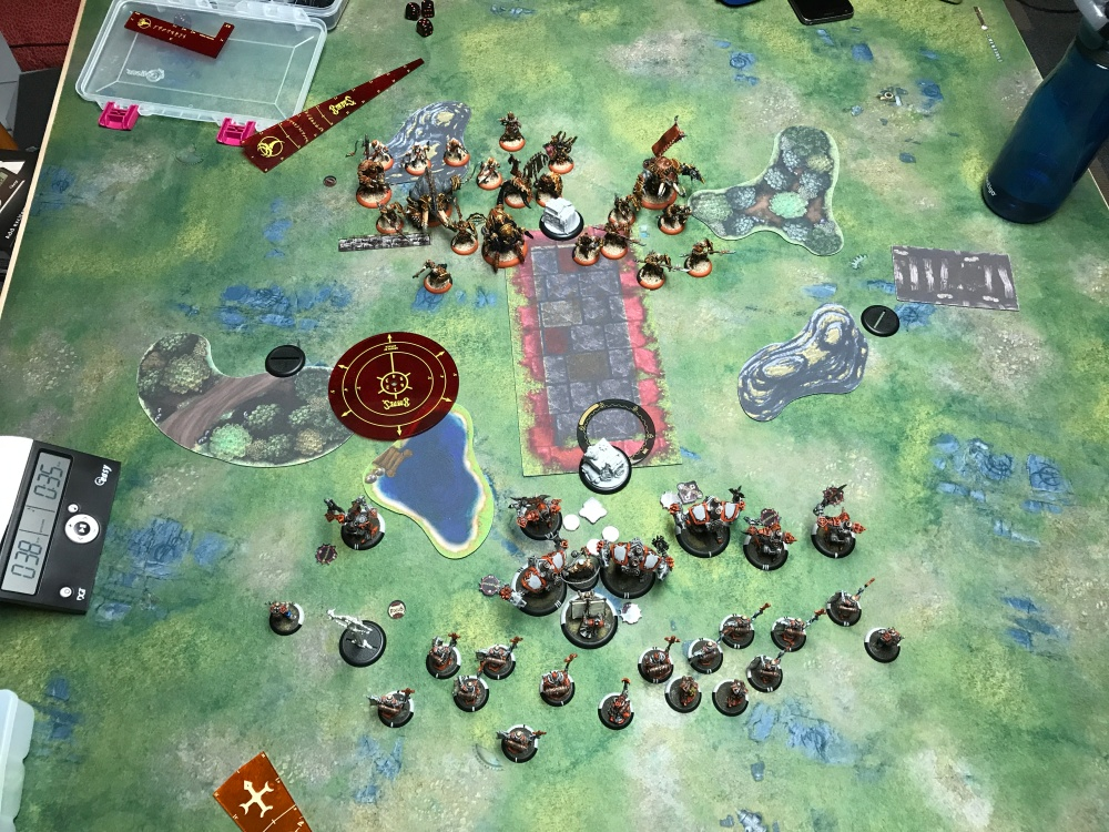 Battle Report 17 - End of Skorne Turn 1.JPG