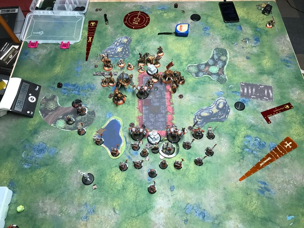 Battle Report 17 - End of Skorne Turn 2.JPG
