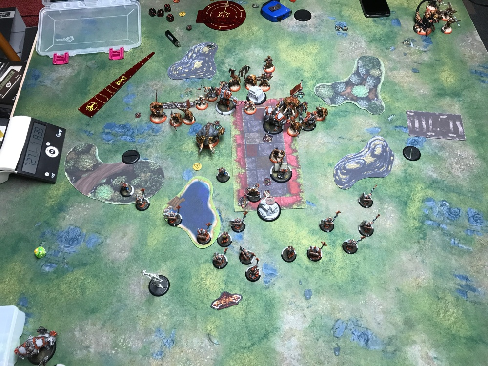 Battle Report 17 - End of Skorne Turn 3.JPG